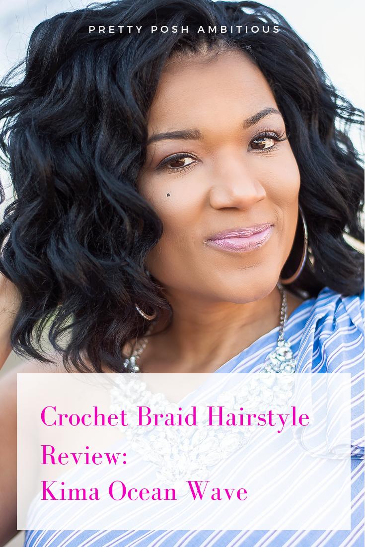 Crochet Braid Hair Style Kima Ocean Wave Review Pretty